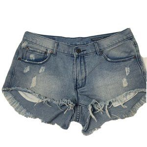 Denim CoLAB Saltwater and Song Denim Shorts Palm S